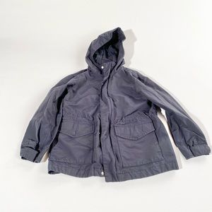 Crewcuts navy lightweight rain jacket